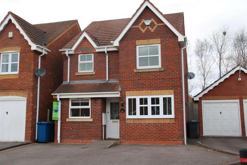 3 Bedrooms Detached House for sale in Ascot Drive, Tamworth