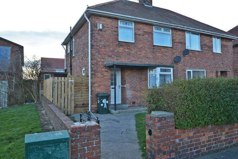 3 Bedrooms Semi Detached House for sale in Woolsington Road, North Shields