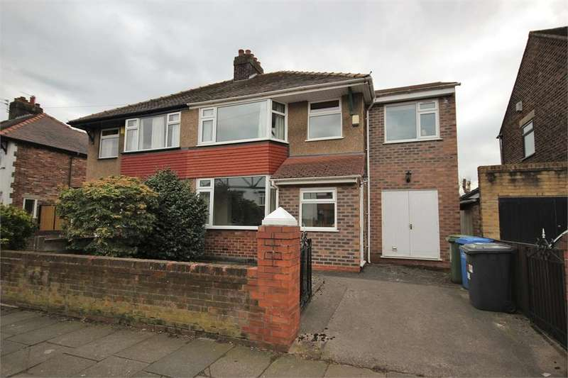 4 Bedrooms Semi Detached House for sale in Marsh Hall Road, WIDNES, Cheshire