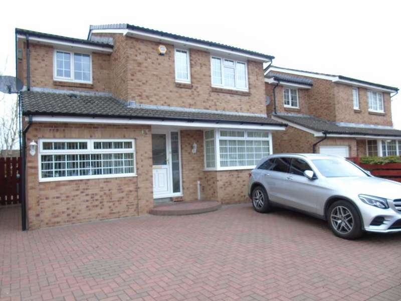 4 Bedrooms Detached House for sale in Burnside Walk, Langloan, Coatbridge, North Lanarkshire, ML5