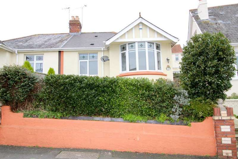 2 Bedrooms Semi Detached Bungalow for sale in Boundary Road, Chelston, Torquay