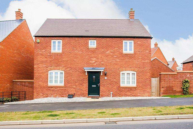 4 Bedrooms Detached House for sale in Poppyfields Way, Brackley