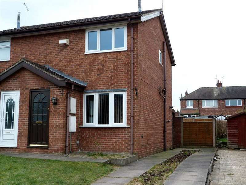 2 Bedrooms Semi Detached House for sale in Ford Close, Crewe, Cheshire, CW1