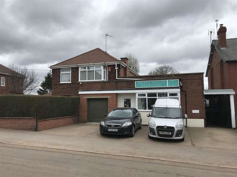 3 Bedrooms Detached House for sale in Skinner Street, Creswell, Worksop