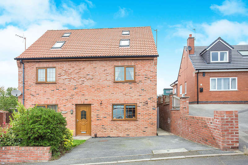 3 Bedrooms Semi Detached House for sale in Alma Road, Selston, Nottingham, NG16