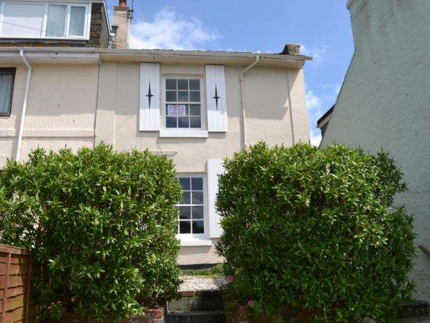 2 Bedrooms End Of Terrace House for sale in Mount Pleasant Road, Brixham, Devon