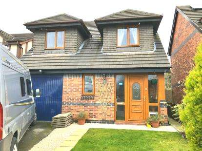 3 Bedrooms Detached House for sale in Spinney Close, Winsford, Cheshire