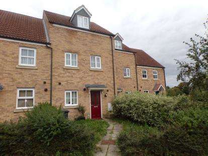 3 Bedrooms Terraced House for sale in Parish Close, Bedford, Bedfordshire
