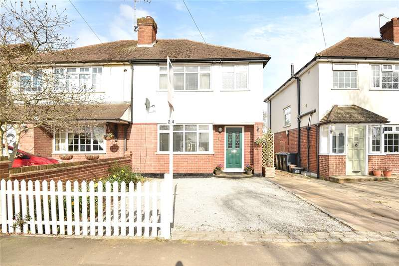 3 Bedrooms Semi Detached House for sale in Oxford Gardens, Denham, Buckinghamshire, UB9
