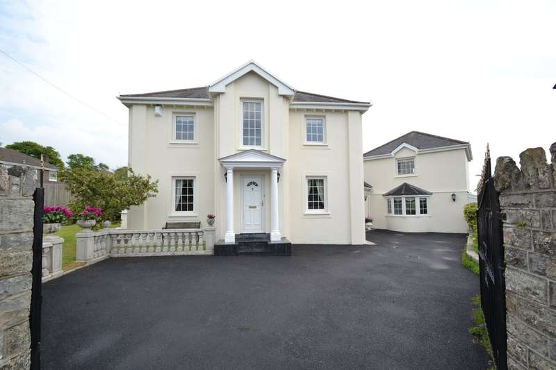 4 Bedrooms Detached House for sale in Rowan House, Wind Street, Bridgend, Bridgend County Borough, CF32 0HU.