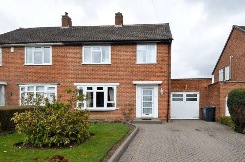 3 Bedrooms Semi Detached House for sale in Clover Road, Bournville Village Trust, Selly Oak, B29