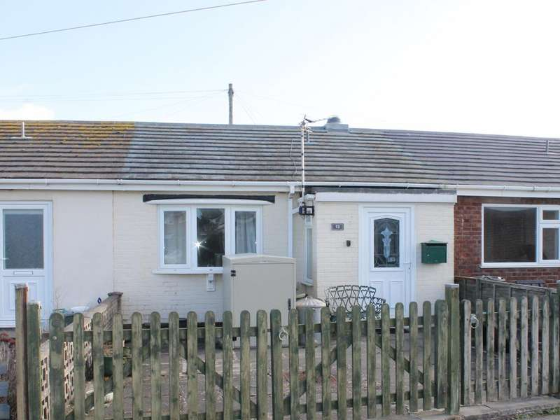 2 Bedrooms Terraced Bungalow for sale in 13 Cae Gwylan, Borth SY24