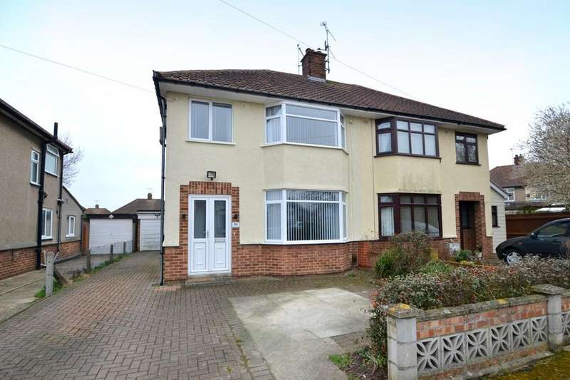 3 Bedrooms Semi Detached House for sale in Colchester Road, Ipswich, IP4 4RZ