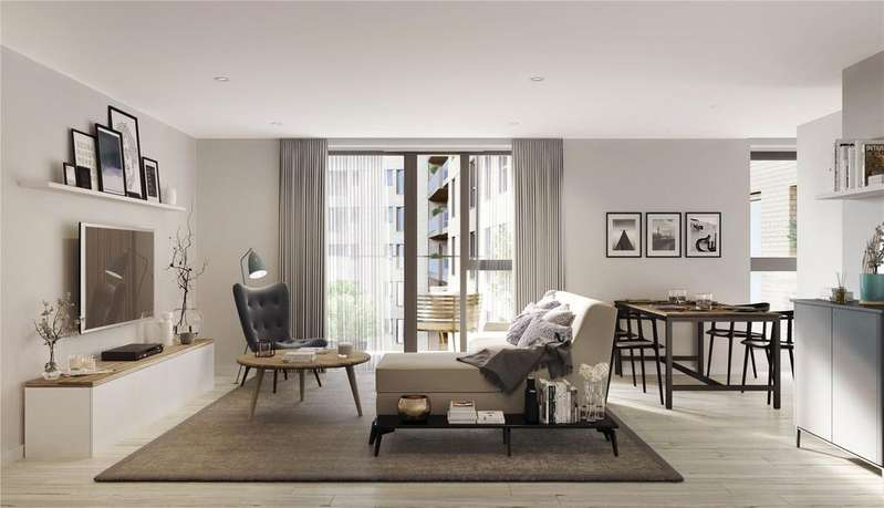1 Bedroom Penthouse Flat for sale in Singapore Road, London, W13