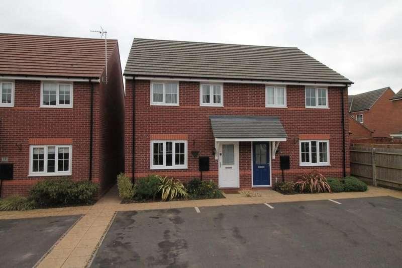 3 Bedrooms Semi Detached House for sale in Brington Close, Market Harborough