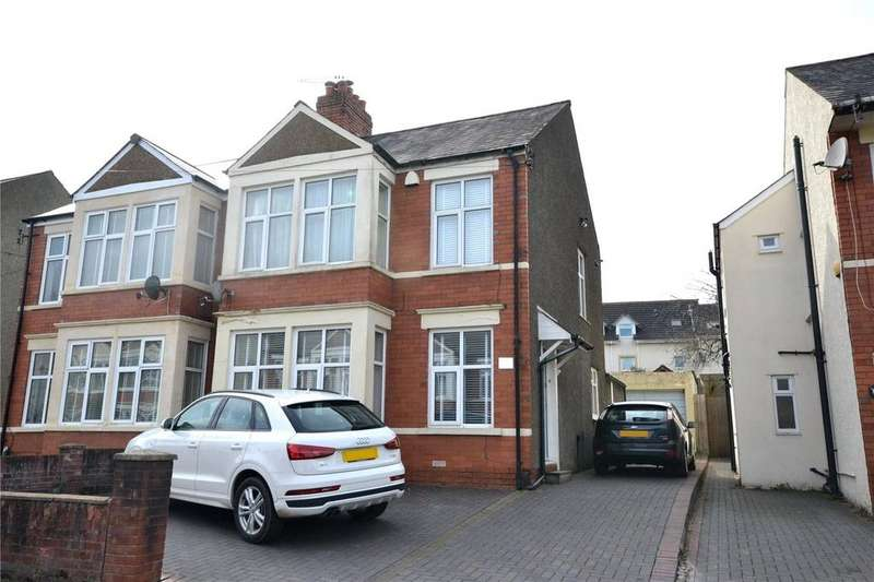 3 Bedrooms Semi Detached House for sale in Crystal Avenue, Heath, Cardiff, CF23