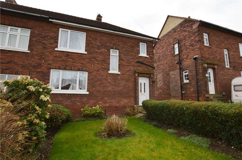 3 Bedrooms Semi Detached House for sale in Denhale Avenue, Wakefield, West Yorkshire