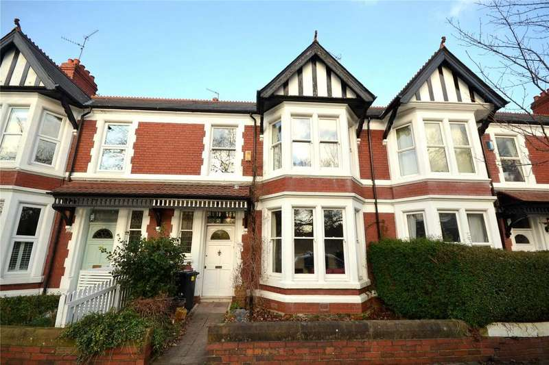 4 Bedrooms Terraced House for sale in Waterloo Gardens, Penylan, Cardiff, CF23