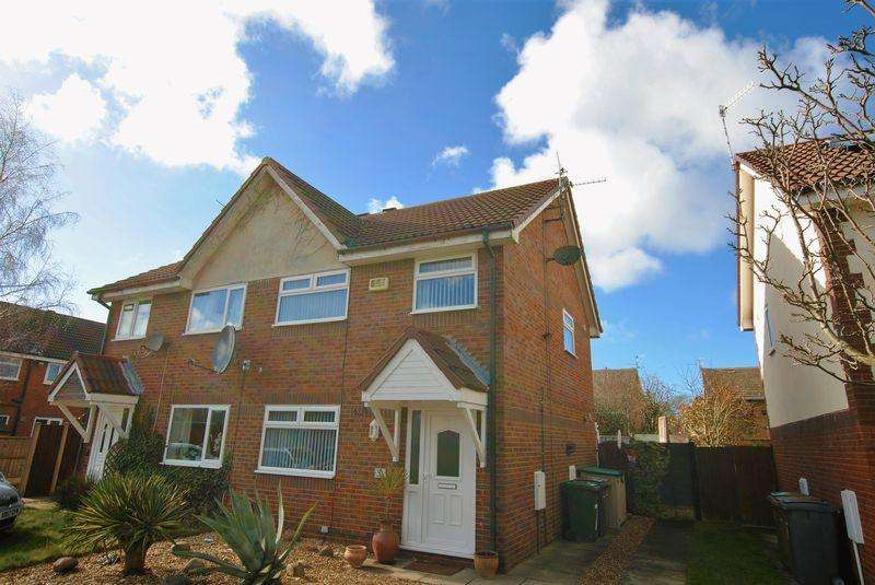 3 Bedrooms Semi Detached House for sale in Whiteside Close, Upton