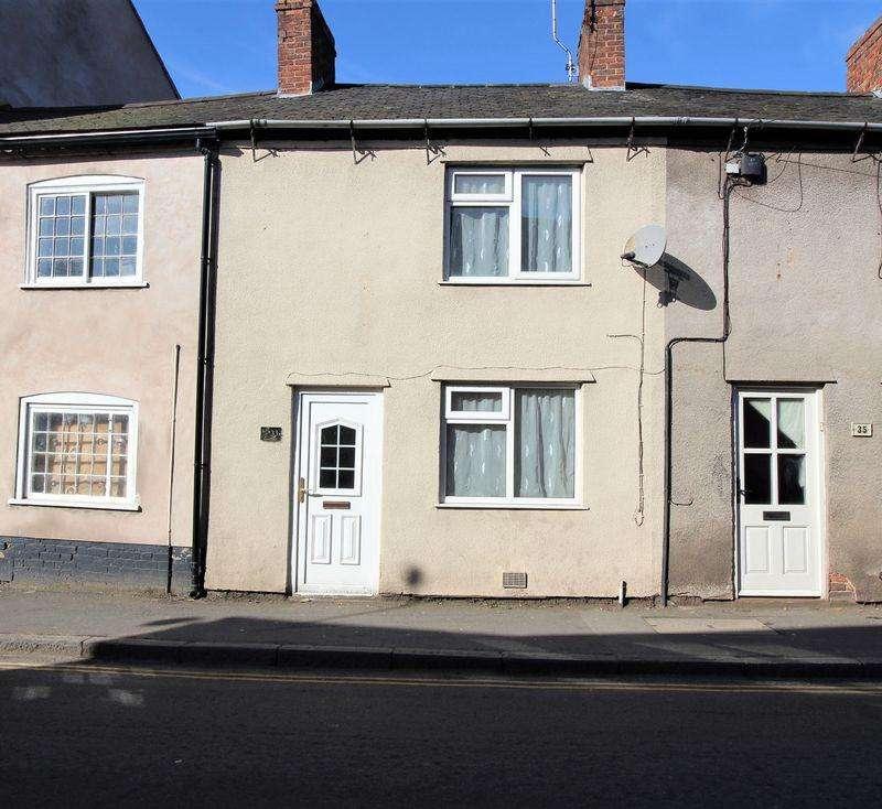 2 Bedrooms Terraced House for sale in Cross Street, Ellesmere