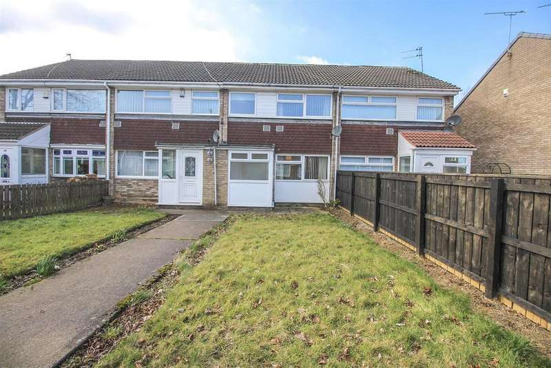 3 Bedrooms Terraced House for sale in Windsor Walk, Kingston Park, Newcastle upon Tyne