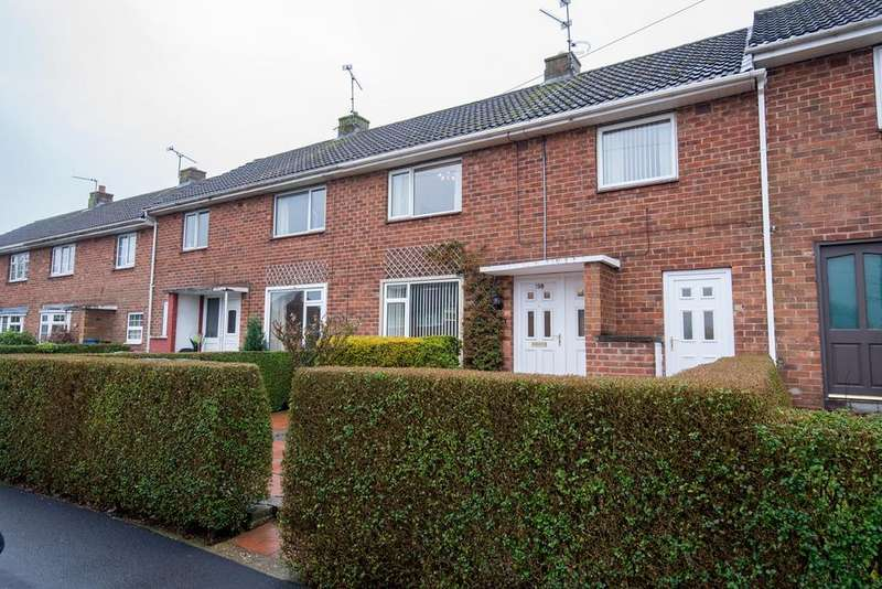 3 Bedrooms Terraced House for sale in Laughton Way, Lincoln, LN2