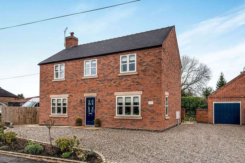 3 Bedrooms Detached House for sale in Tamur House Back Lane, Gnosall, STAFFORD, ST20