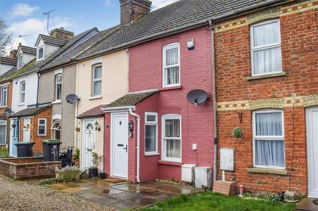 2 Bedrooms Terraced House for sale in Lower Bell Lane, Ditton, Aylesford, Kent