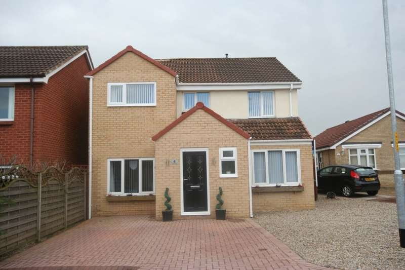 4 Bedrooms Detached House for sale in Earsdon Close, Norton, Stockton-On-Tees, TS20