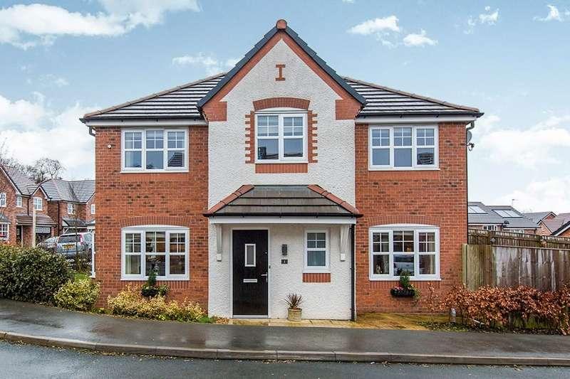 4 Bedrooms Detached House for sale in Pasture Grove, Longridge, Preston, PR3