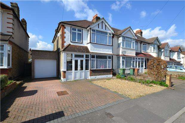 3 Bedrooms End Of Terrace House for sale in Guildford Way, WALLINGTON, Surrey, SM6 8NS
