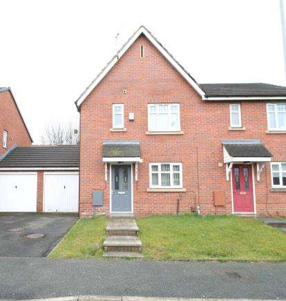 3 Bedrooms Semi Detached House for sale in Devoke Road, Wythenshawe, Manchester, Greater Manchester