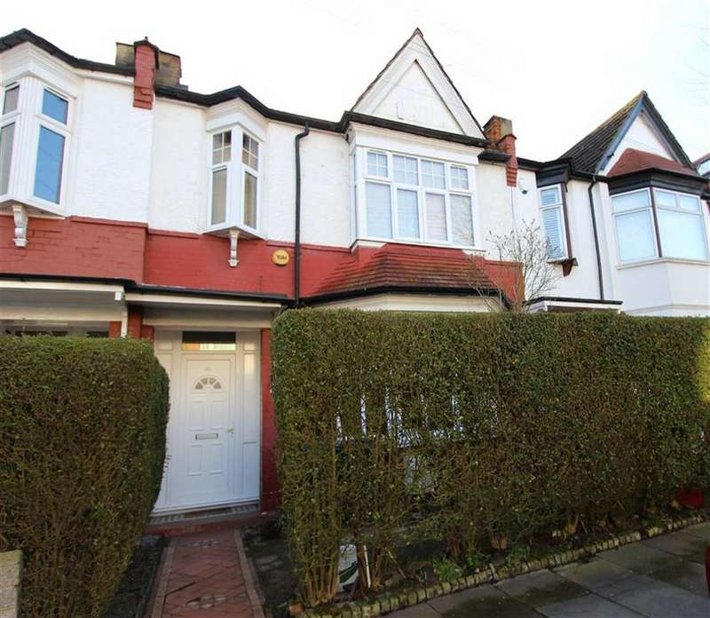 3 Bedrooms Terraced House for sale in Lightcliffe Road, Palmers Green, London