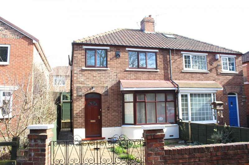 3 Bedrooms Semi Detached House for sale in Hillside Road, Norton, TS20