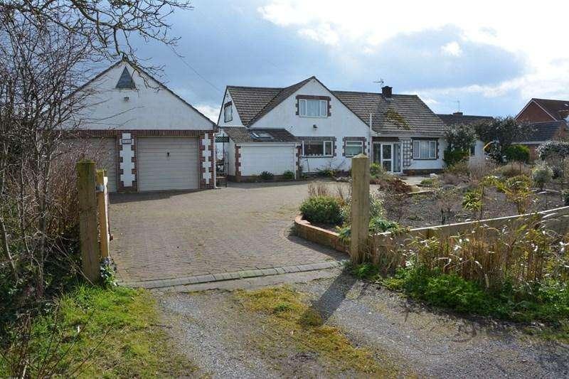4 Bedrooms Detached Bungalow for sale in Hurn Lane, Berrow, Burnham-On-Sea