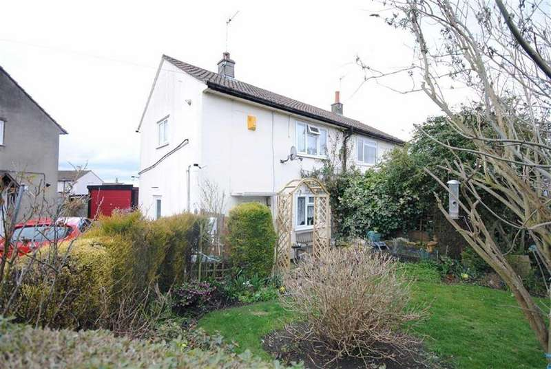 2 Bedrooms Semi Detached House for sale in Eversley Mount, Sherburn In Elmet, Leeds, LS25