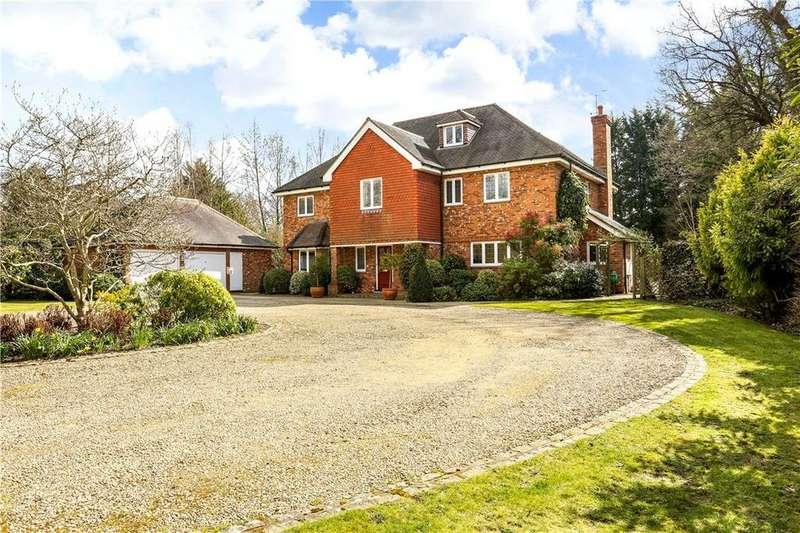 6 Bedrooms Detached House for sale in Longcross Road, Longcross, Chertsey, Surrey, KT16