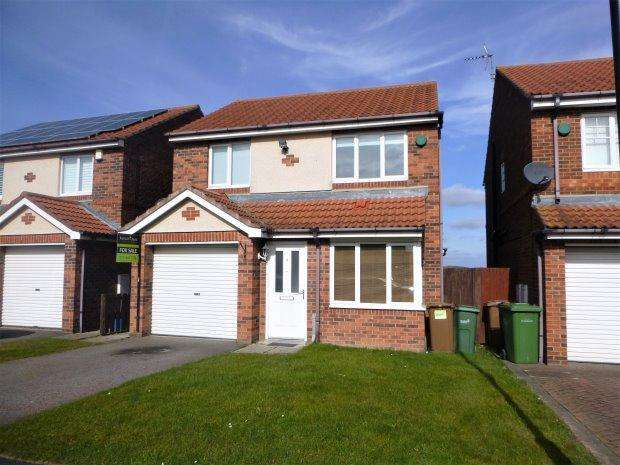 3 Bedrooms Detached House for sale in DYRHAM CLOSE, TUNSTALL, SUNDERLAND SOUTH