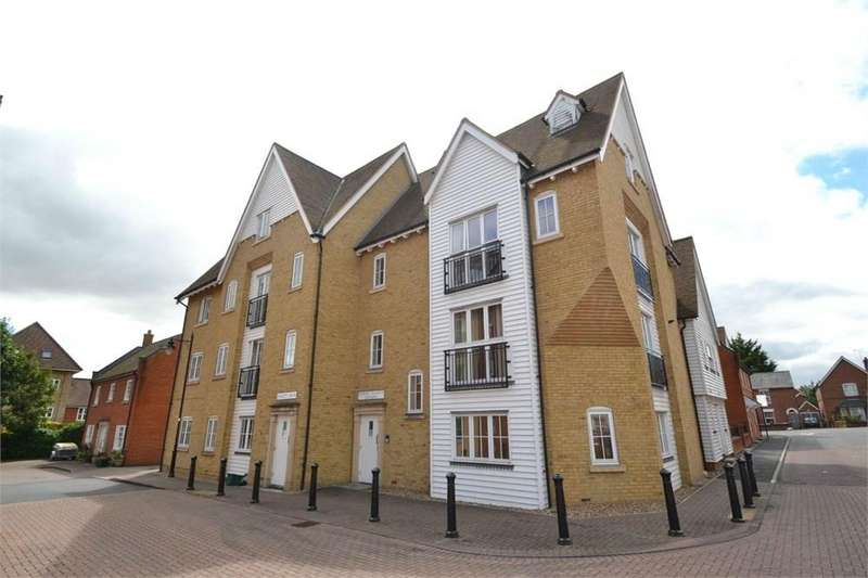 2 Bedrooms Apartment Flat for sale in Edward Paxman Gardens, Colchester, CO1