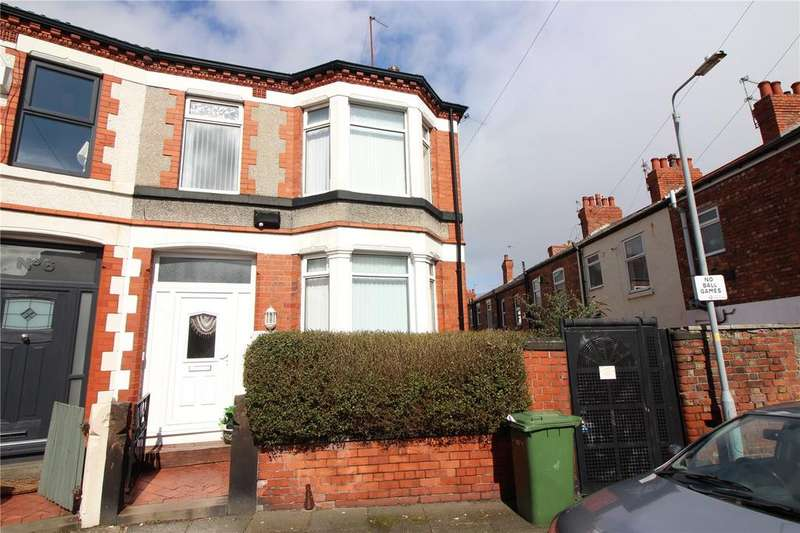 4 Bedrooms End Of Terrace House for sale in Laburnum Road, Prenton, Merseyside, CH43