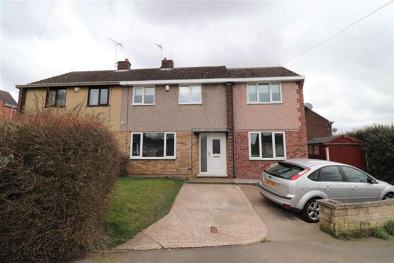 3 Bedrooms Semi Detached House for sale in Bainbridge Road, Bolsover, Chesterfield
