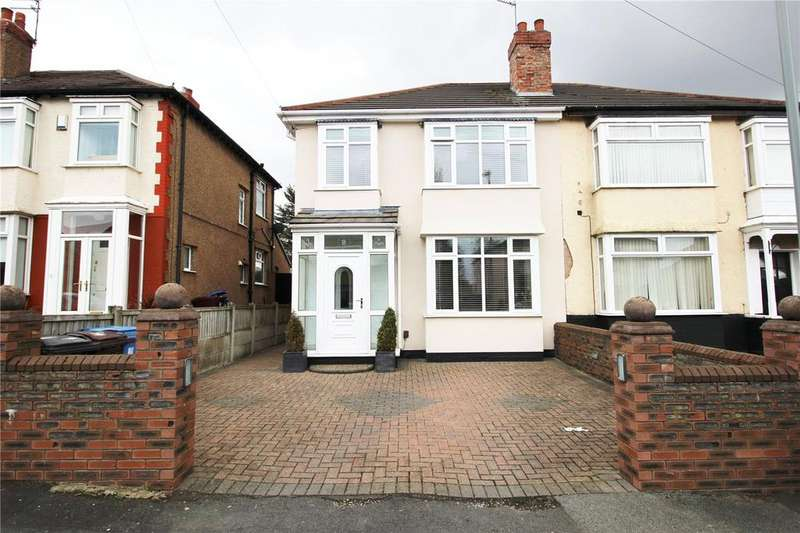3 Bedrooms Semi Detached House for sale in Hillcrest Avenue, Liverpool, Merseyside, L36