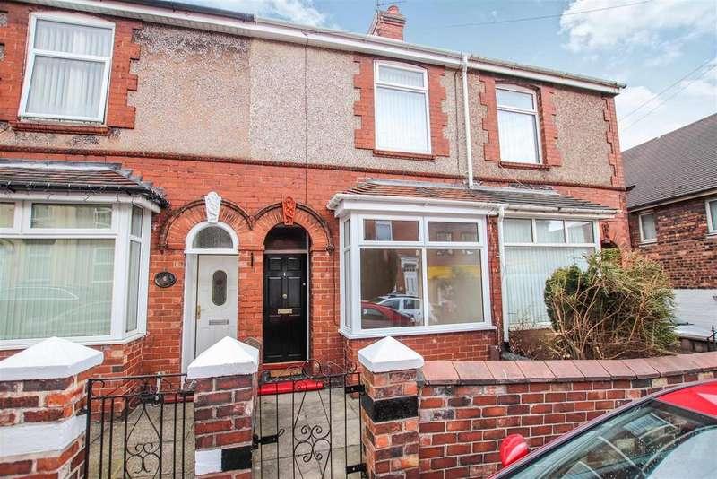 2 Bedrooms Terraced House for sale in Heaton Terrace, Porthill, Newcastle, Staffs