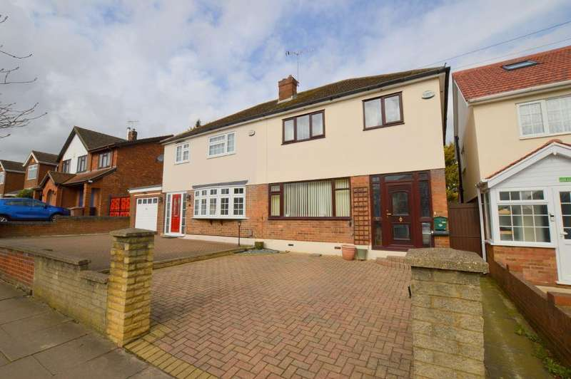 3 Bedrooms Semi Detached House for sale in Stoneygate Road, Luton, Bedfordshire, LU4 9TG