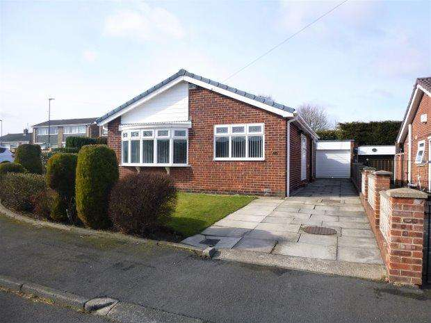 2 Bedrooms Detached Bungalow for sale in BRAMLEY CLOSE, HASTINGS HILL, SUNDERLAND SOUTH