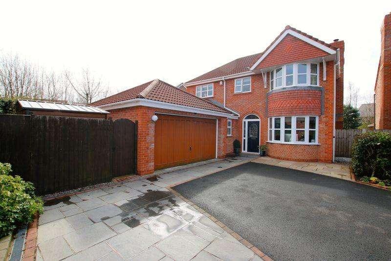 4 Bedrooms Detached House for sale in Jubilee Road, Walmer Bridge, Preston