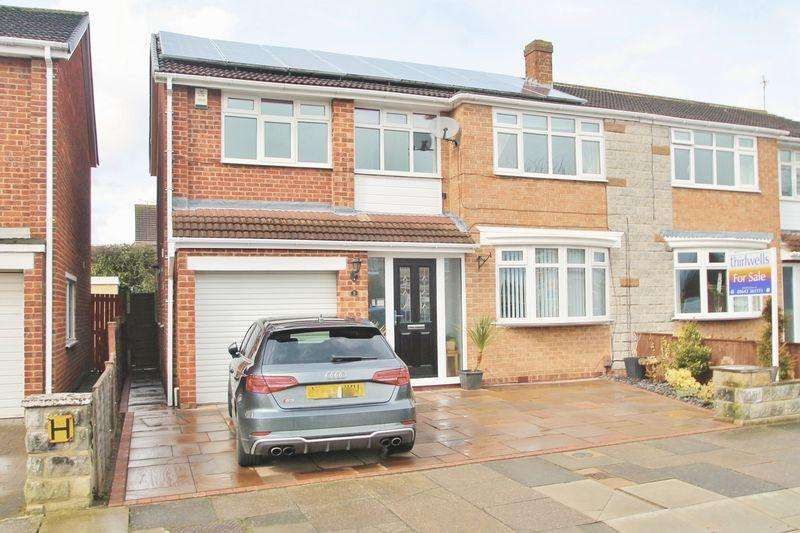 4 Bedrooms Semi Detached House for sale in Rudston Avenue, Billingham