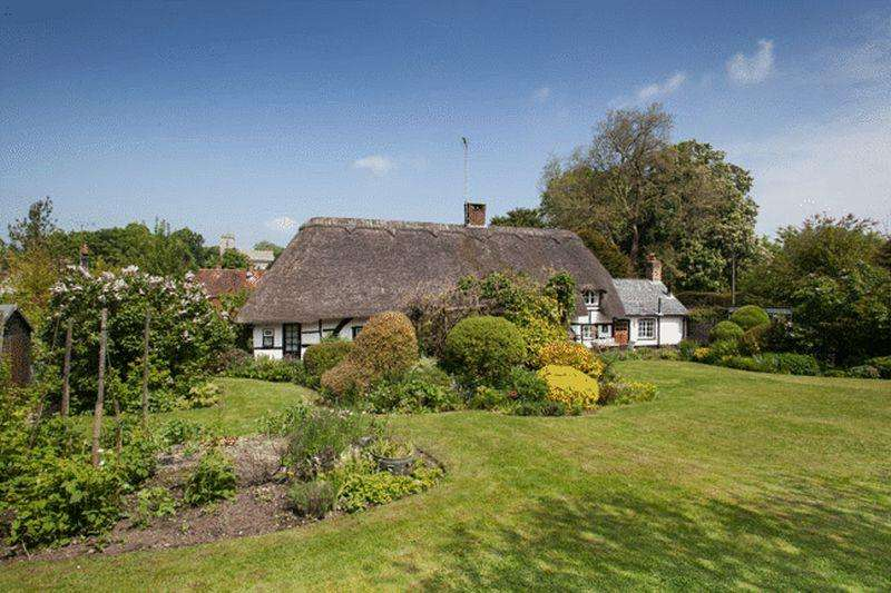 4 Bedrooms Cottage House for sale in Love Lane, West Meon, Petersfield, Hampshire