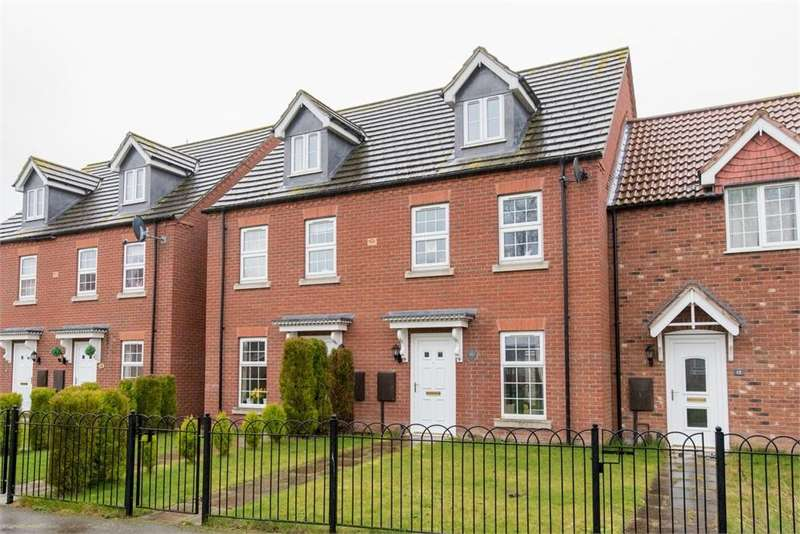 3 Bedrooms Terraced House for sale in Lime Walk, Old Leake, Boston, Lincolnshire