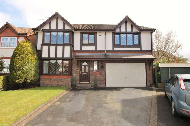 4 Bedrooms Detached House for sale in Preece Close, Widnes, WA8 9WQ